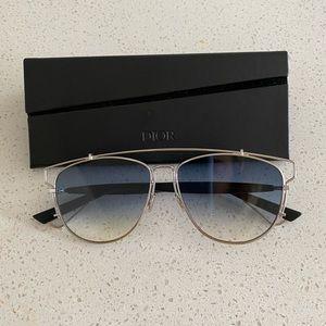 Dior Technologic Unisex Sunglasses in Blue Ombre